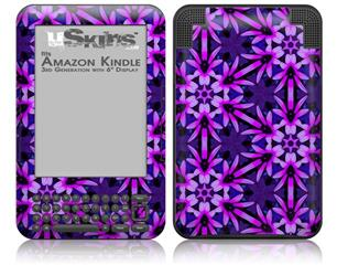 Daisy Pink - Decal Style Skin fits Amazon Kindle 3 Keyboard (with 6 inch display)