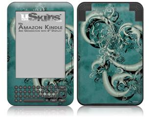New Fish - Decal Style Skin fits Amazon Kindle 3 Keyboard (with 6 inch display)