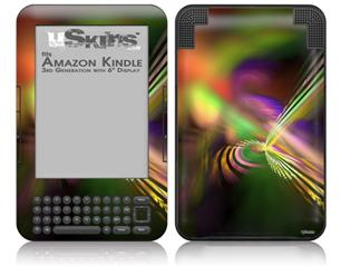 Prismatic - Decal Style Skin fits Amazon Kindle 3 Keyboard (with 6 inch display)