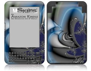 Plastic - Decal Style Skin fits Amazon Kindle 3 Keyboard (with 6 inch display)