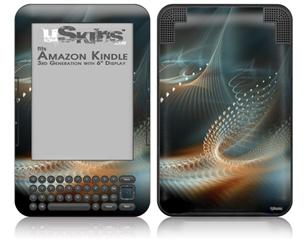 Spirograph - Decal Style Skin fits Amazon Kindle 3 Keyboard (with 6 inch display)