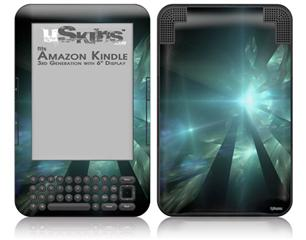 Shards - Decal Style Skin fits Amazon Kindle 3 Keyboard (with 6 inch display)