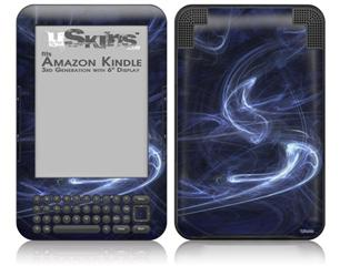 Smoke - Decal Style Skin fits Amazon Kindle 3 Keyboard (with 6 inch display)