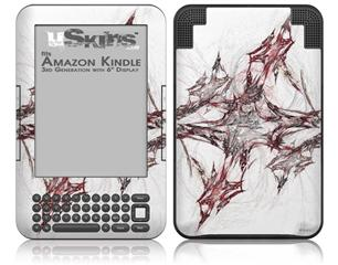 Sketch - Decal Style Skin fits Amazon Kindle 3 Keyboard (with 6 inch display)