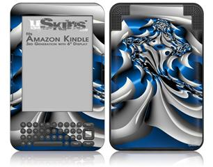 Splat - Decal Style Skin fits Amazon Kindle 3 Keyboard (with 6 inch display)