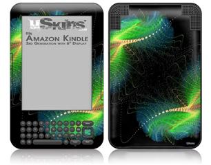 Touching - Decal Style Skin fits Amazon Kindle 3 Keyboard (with 6 inch display)