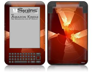 Trifold - Decal Style Skin fits Amazon Kindle 3 Keyboard (with 6 inch display)