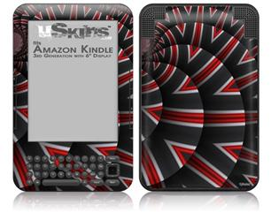 Up And Down - Decal Style Skin fits Amazon Kindle 3 Keyboard (with 6 inch display)