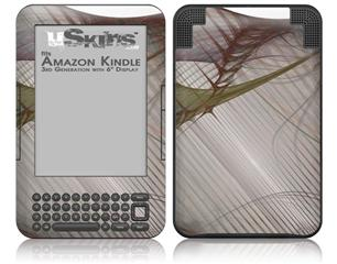 Under Construction - Decal Style Skin fits Amazon Kindle 3 Keyboard (with 6 inch display)