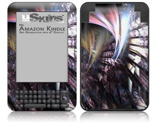 Wide Open - Decal Style Skin fits Amazon Kindle 3 Keyboard (with 6 inch display)
