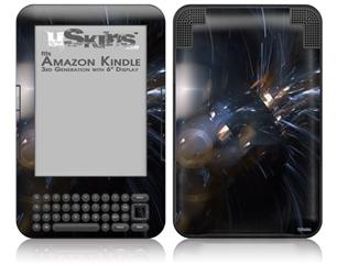 Cyborg - Decal Style Skin fits Amazon Kindle 3 Keyboard (with 6 inch display)