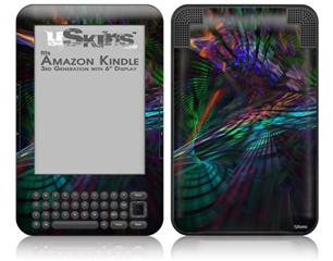Ruptured Space - Decal Style Skin fits Amazon Kindle 3 Keyboard (with 6 inch display)