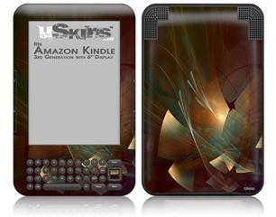 Windswept - Decal Style Skin fits Amazon Kindle 3 Keyboard (with 6 inch display)