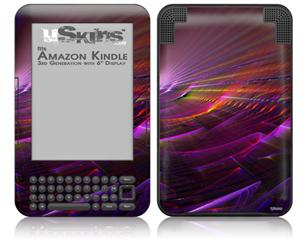 Swish - Decal Style Skin fits Amazon Kindle 3 Keyboard (with 6 inch display)