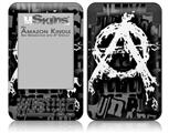Anarchy - Decal Style Skin fits Amazon Kindle 3 Keyboard (with 6 inch display)