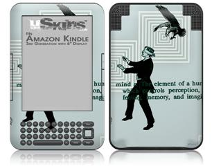 Bestowing Conciousness - Decal Style Skin fits Amazon Kindle 3 Keyboard (with 6 inch display)