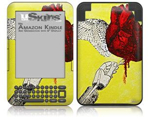 Empathically Simulated - Decal Style Skin fits Amazon Kindle 3 Keyboard (with 6 inch display)