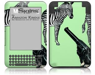 ID6 - Decal Style Skin fits Amazon Kindle 3 Keyboard (with 6 inch display)