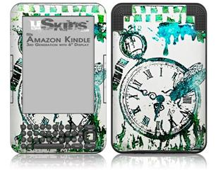 Question of Time - Decal Style Skin fits Amazon Kindle 3 Keyboard (with 6 inch display)