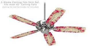 Aloha - Ceiling Fan Skin Kit fits most 42 inch fans (FAN and BLADES SOLD SEPARATELY)