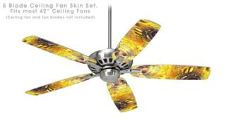 Golden Breasts - Ceiling Fan Skin Kit fits most 42 inch fans (FAN and BLADES SOLD SEPARATELY)