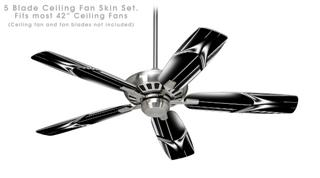 Smooth Moves - Ceiling Fan Skin Kit fits most 42 inch fans (FAN and BLADES SOLD SEPARATELY)