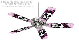 Sketches 3 - Ceiling Fan Skin Kit fits most 42 inch fans (FAN and BLADES SOLD SEPARATELY)