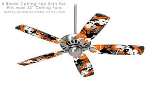 Halloween Ghosts - Ceiling Fan Skin Kit fits most 42 inch fans (FAN and BLADES SOLD SEPARATELY)