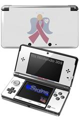 Angel Ribbon Hope - Decal Style Skin fits Nintendo 3DS (3DS SOLD SEPARATELY)