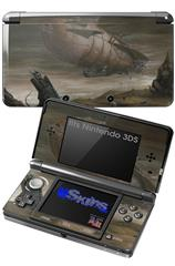 Desert Shadows - Decal Style Skin fits Nintendo 3DS (3DS SOLD SEPARATELY)