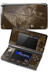 The Sabicu - Decal Style Skin fits Nintendo 3DS (3DS SOLD SEPARATELY)