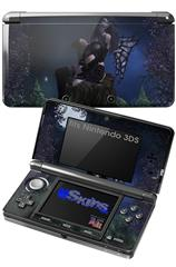 Kathy Gold - Bad To The Bone 2 - Decal Style Skin fits Nintendo 3DS (3DS SOLD SEPARATELY)