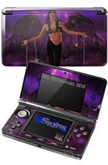 Kathy Gold - Goth Angel 1 - Decal Style Skin fits Nintendo 3DS (3DS SOLD SEPARATELY)