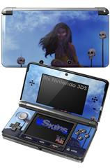 Kathy Gold - Warrior Wind - Decal Style Skin fits Nintendo 3DS (3DS SOLD SEPARATELY)