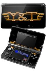 Y&T - Decal Style Skin fits Nintendo 3DS (3DS SOLD SEPARATELY)