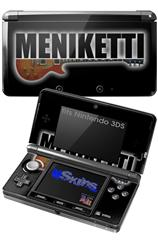 Meniketti - Decal Style Skin fits Nintendo 3DS (3DS SOLD SEPARATELY)