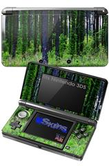 South GA Forrest - Decal Style Skin fits Nintendo 3DS (3DS SOLD SEPARATELY)