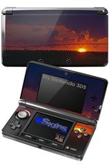 South GA Sunset - Decal Style Skin fits Nintendo 3DS (3DS SOLD SEPARATELY)