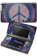 Tie Dye Peace Sign 101 - Decal Style Skin fits Nintendo 3DS (3DS SOLD SEPARATELY)