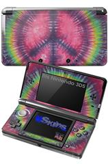 Tie Dye Peace Sign 103 - Decal Style Skin fits Nintendo 3DS (3DS SOLD SEPARATELY)
