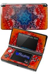 Tie Dye Star 100 - Decal Style Skin fits Nintendo 3DS (3DS SOLD SEPARATELY)