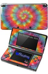 Tie Dye Swirl 102 - Decal Style Skin fits Nintendo 3DS (3DS SOLD SEPARATELY)