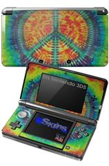 Tie Dye Peace Sign 111 - Decal Style Skin fits Nintendo 3DS (3DS SOLD SEPARATELY)