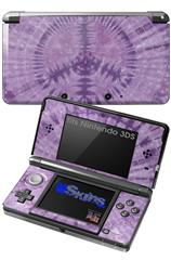 Tie Dye Peace Sign 112 - Decal Style Skin fits Nintendo 3DS (3DS SOLD SEPARATELY)