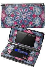 Tie Dye Star 102 - Decal Style Skin fits Nintendo 3DS (3DS SOLD SEPARATELY)