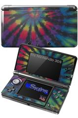 Tie Dye Swirl 105 - Decal Style Skin fits Nintendo 3DS (3DS SOLD SEPARATELY)