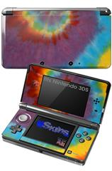 Tie Dye Swirl 108 - Decal Style Skin fits Nintendo 3DS (3DS SOLD SEPARATELY)