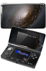 Hubble Images - Nucleus of Black Eye Galaxy M64 - Decal Style Skin fits Nintendo 3DS (3DS SOLD SEPARATELY)