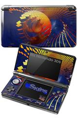 Genesis 01 - Decal Style Skin fits Nintendo 3DS (3DS SOLD SEPARATELY)