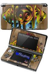 Software Bug - Decal Style Skin fits Nintendo 3DS (3DS SOLD SEPARATELY)